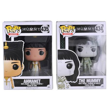 Mummy Pop - Funko POP Movies: The Mummy Ahmanet & The Mummy Action Figure Bundle (2 items)