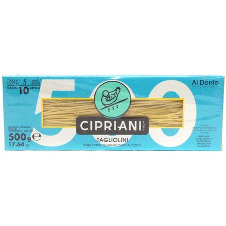 Cipriani Food Al Dente Tagliolini Extra Thin Egg Pasta - 17.64 oz