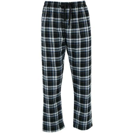 Flannel Mens Pajamas - Men's Big and Tall Flannel Lounge Pajama Pants