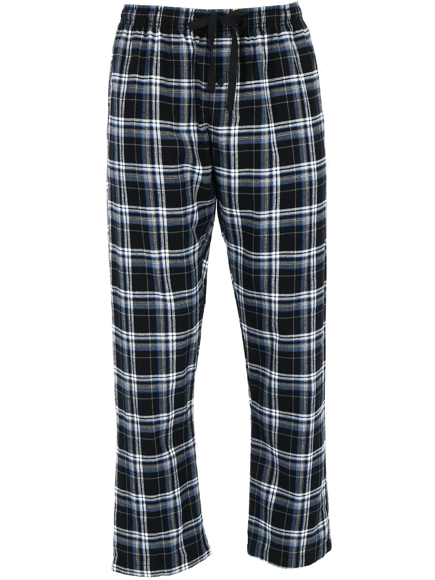 Men's Big and Tall Flannel Lounge Pajama Pants