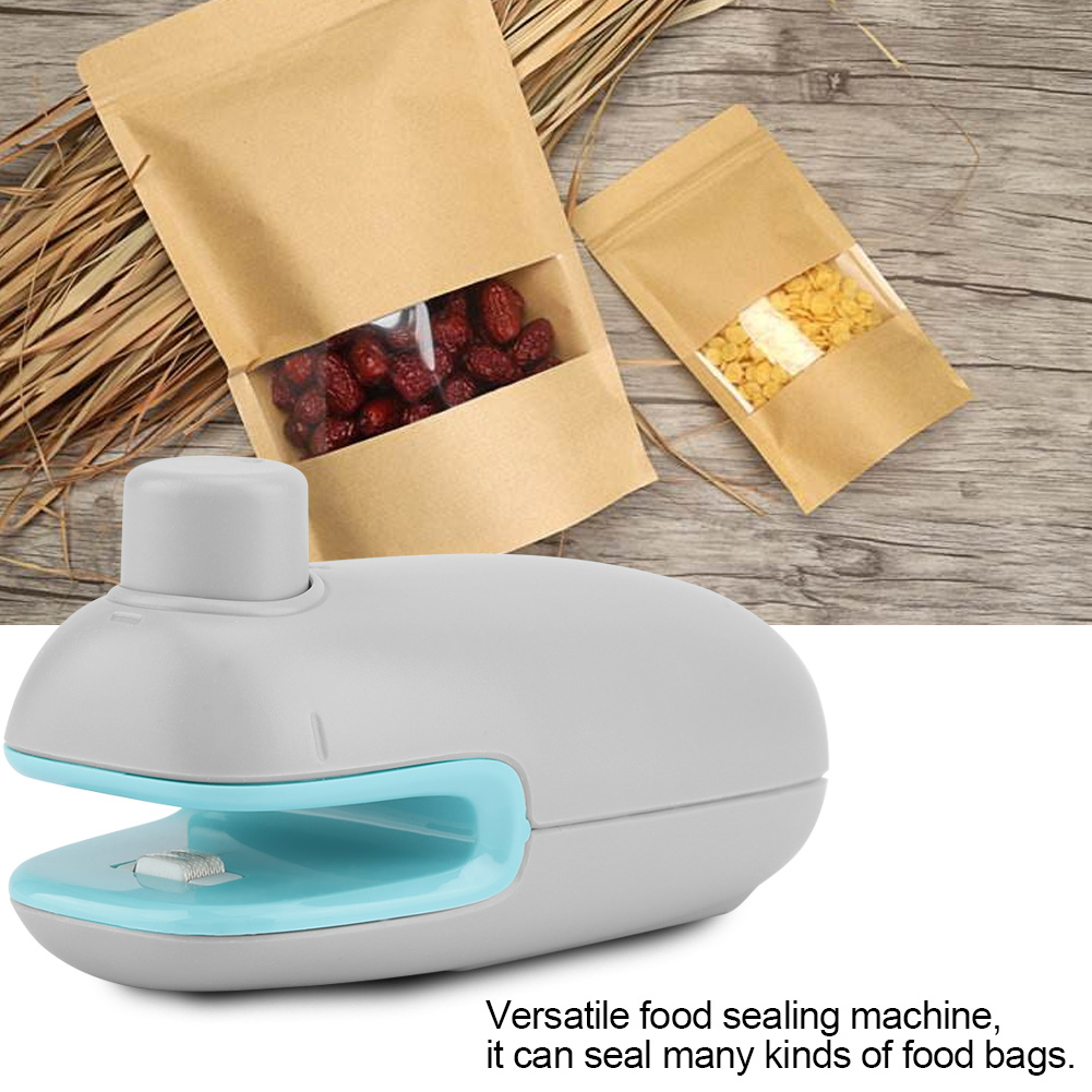 Household Portable Mini Bag Sealer Food Heat Sealer Machine,Bag Sealer, Mini Heat Sealer