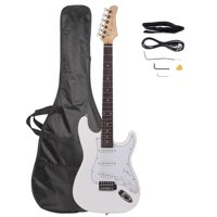 Ktaxon Rose Wood Fingerboard Electric Guitar + Gigbag + Cord + Strap + Accessor