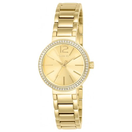 Invicta 23268 Womens Gabrielle Union Gold Tone Dial Yellow Gold Steel Crystal Watch