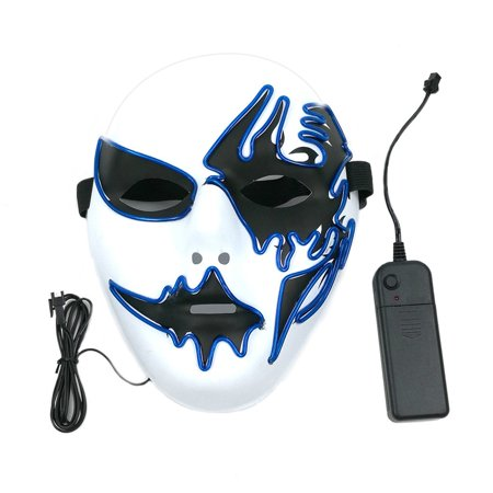 Creative Names For Halloween Parties (Mask With LED Light Creative Decoration For Party Halloween Street Dance Birthday Party Carnival Cosplay)