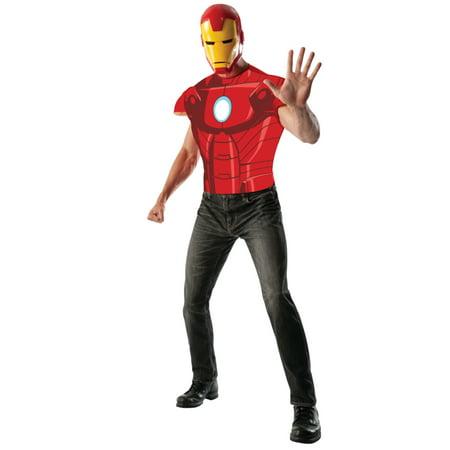 Men's Iron Man Muscle Chest -
