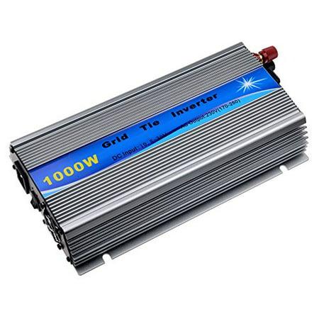 SolarEpic 1000W Grid Tie Inverter MPPT For Solar Panel Stackable Pure Sine  Wave 10 8-30V Solar Input 240V AC Output Fit for 12V Solar Panel
