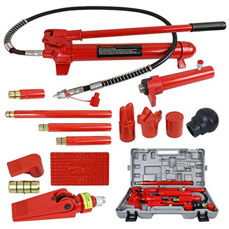 Zeny 10 Ton Porta Power Hydraulic Jack Body Frame Repair Kit Auto Shop Tool Lift Ram ()