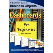 Business Objects Dashboards for Beginners