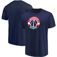 Men's Majestic Navy Washington Wizards Victory Century T-Shirt