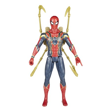 Marvel Avengers: Infinity War Titan Hero Power FX Iron Spider - Spider Man Chuck Taylors