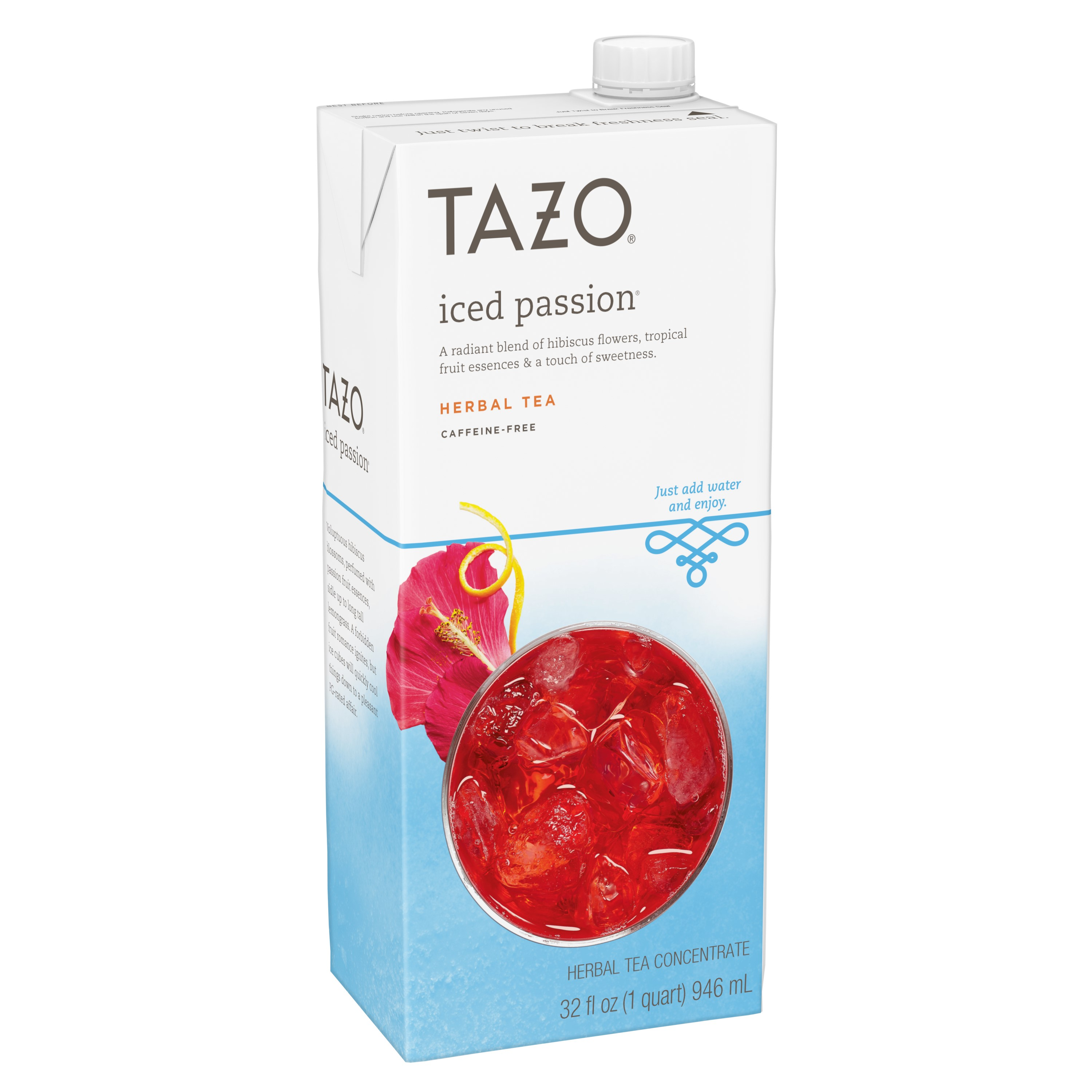 Tazo Herbal Tea Concentrate, Iced