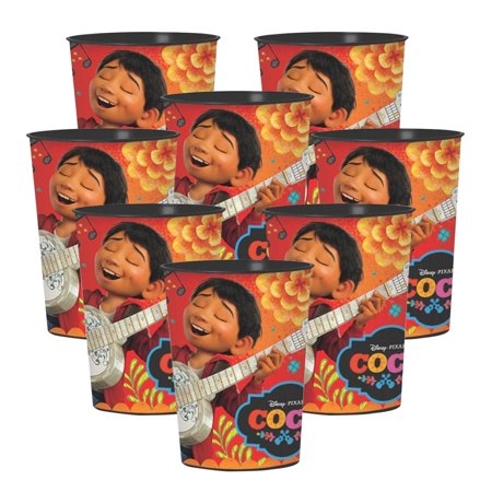 Coco Party Suplies Plastic Favor Cup for 8 - Party Favor Cups