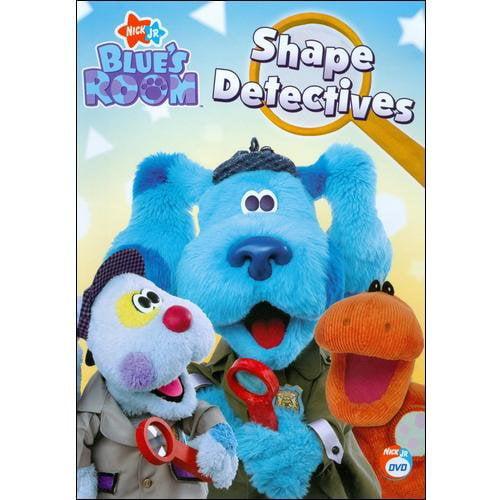 blue's clues blue's room  shape detectives  walmart,