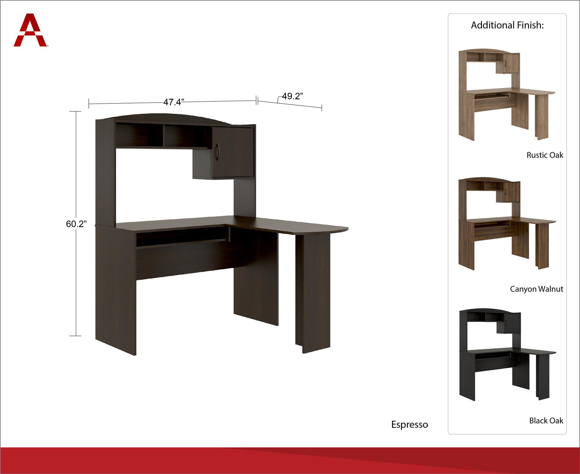 1 Mainstays Student Desk Multiple Finishes Color Alder Oak Hostgarcia