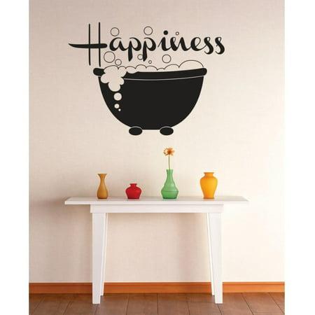 Idea Bubble (New Wall Ideas Happiness Bubble Bath Image Quote)