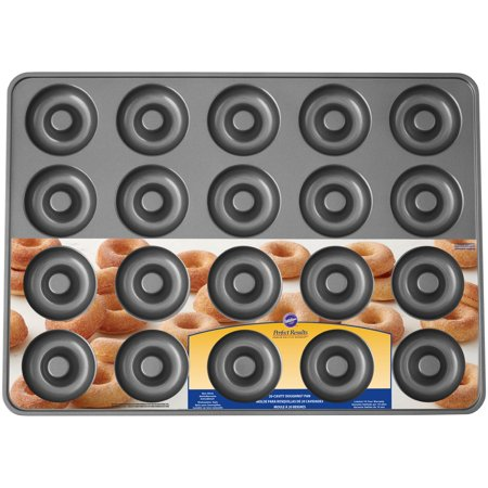 - Wilton Perfect Results Non-Stick Mega Doughnut Pan, 20-Cavity