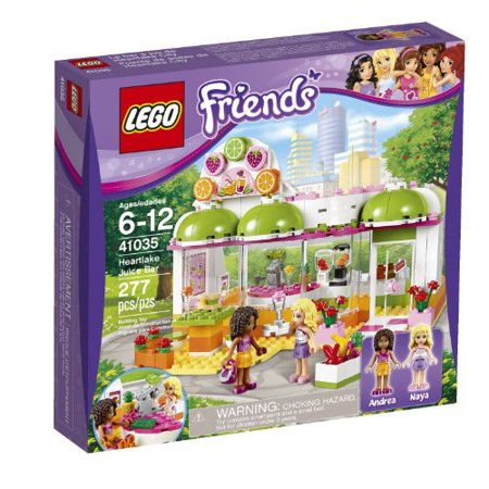 Maven Gifts: LEGO Friends Heartlake Juice Bar (41035) and LEGO Friends  Heartlake Hair Salon (41093) -Multiple Characters - Non-Violent and  Encourages