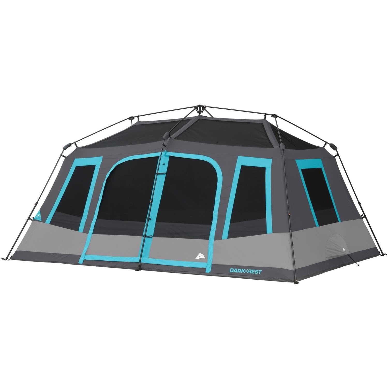 Ozark Trail 10 Person Dark Rest Instant Cabin Tent Outdoor