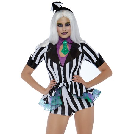 Beetle Halloween Costumes (Leg Avenue Women's Beetle Babe 80's Halloween)