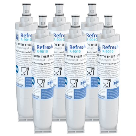 Replacement For Whirlpool 4396918 Refrigerator Water Filter by Refresh