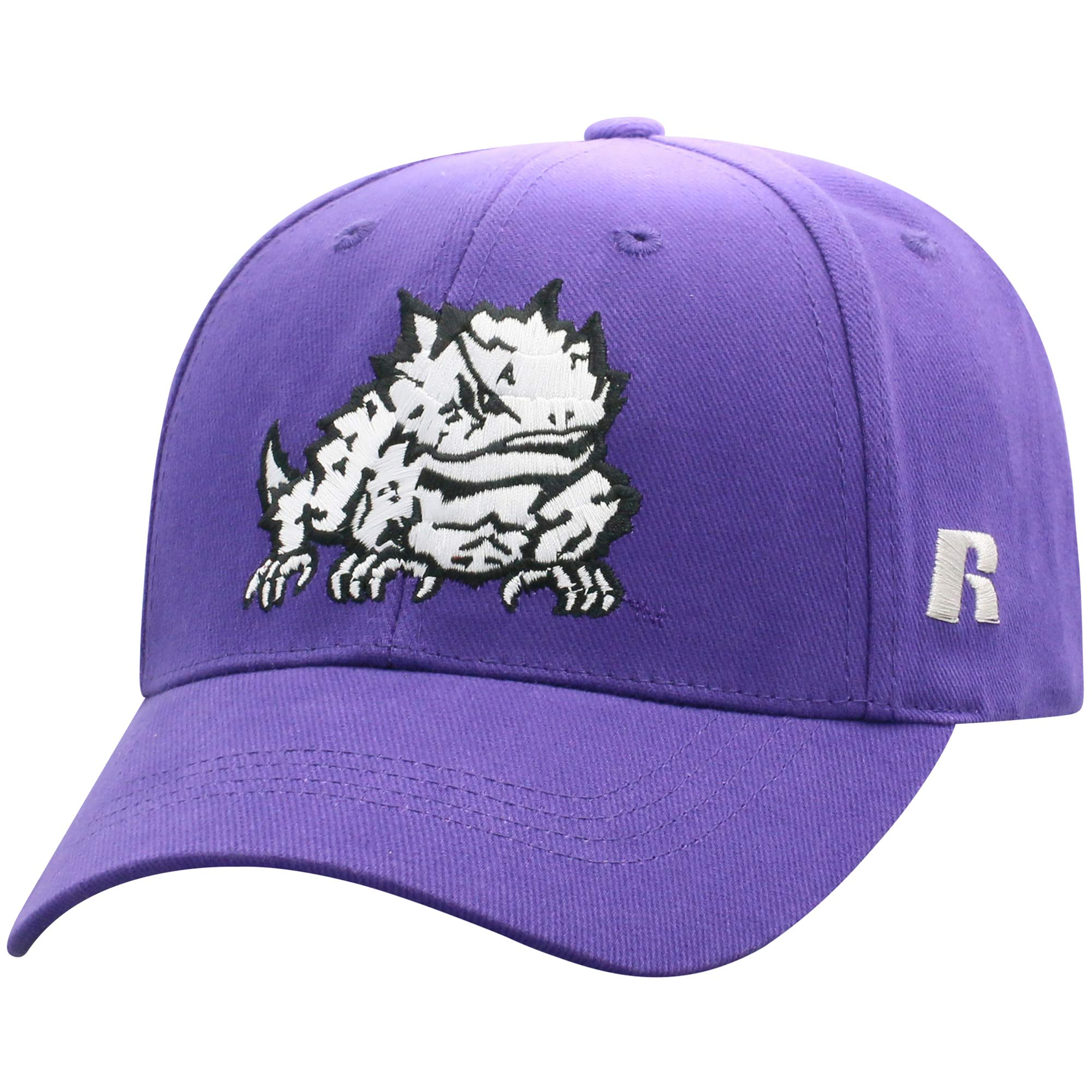Men's Russell Purple TCU Horned Frogs Endless Adjustable Hat - OSFA
