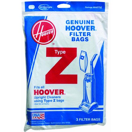 Hoover Replacement Type Z Vacuum Bags 4010075Z
