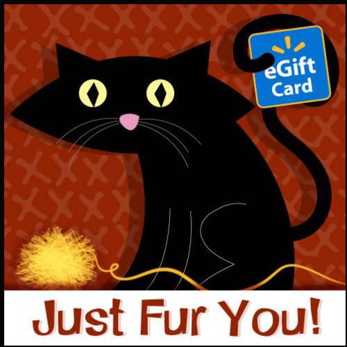 Just Fur You Cat Walmart eGift Card