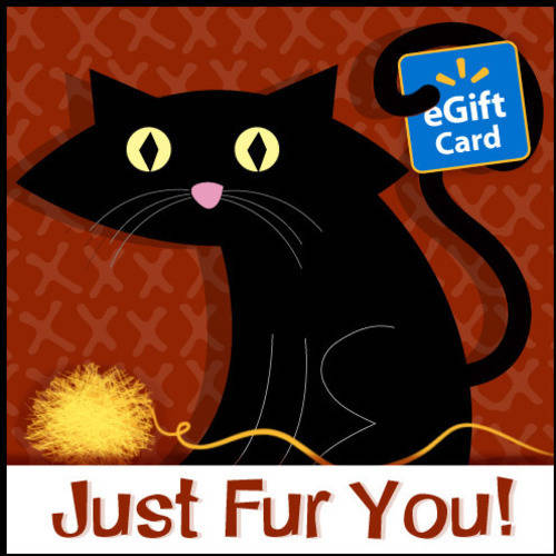 Just Fur You Cat Walmart eGift Card