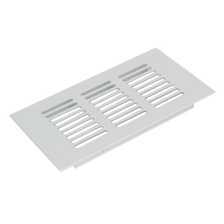 150mmx80mm Aluminum Alloy Rectangular Ventilation Grille Air Vent Louvered Cover