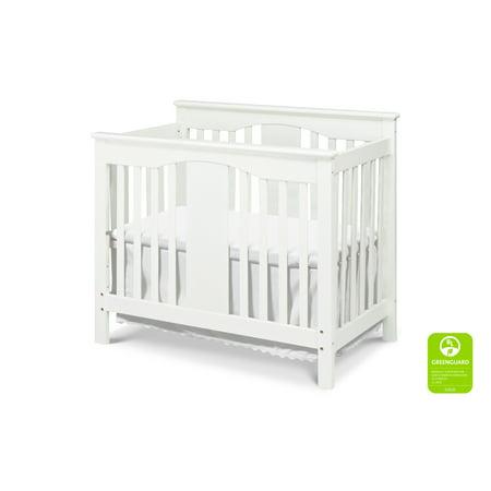DaVinci Annabelle 2-in-1 Mini Crib and Twin Bed in White