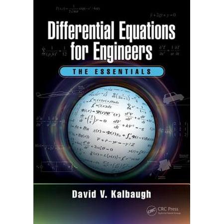 differential equations  engineers  essentials walmartcom