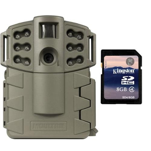 MOULTRIE Game Spy A-5 Gen2 Low Glow IR 5 MP Digital Trail Game Camera + SD Card