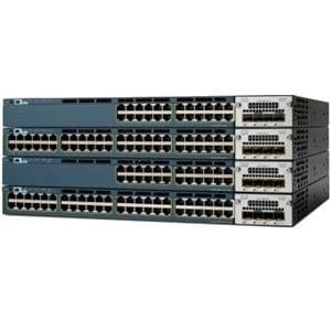 Cisco WS-C3560X-48P-L Cisco Catalyst 3560X-48P-L Gigabit Ethernet Switch 48 x Gigabit Ethernet Network - by Cisco
