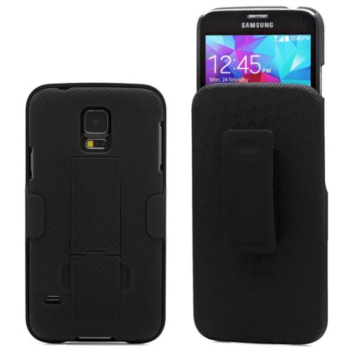 Minisuit Clipster Kick Stand Case + Belt Clip for Samsung Galaxy S5 i9600