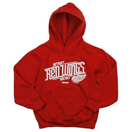 Reebok NHL Hockey Kids Detroit Red Wings Custom Fleece Hoodie Sweatshirt -  Red - Walmart.com f925984cd