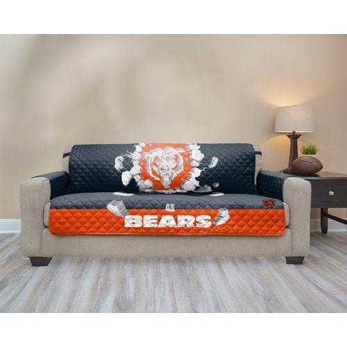 Chicago Bears 75 X 110 3d Sofa, Chicago Bears Furniture