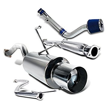 Honda Civic EX/LX/DX 2/4DR Cold Air Intake+Catback Exhaust System Muffler