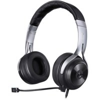 LucidSound LS20 On-Ear 3.5mm Wired Gaming Headphones (Black)
