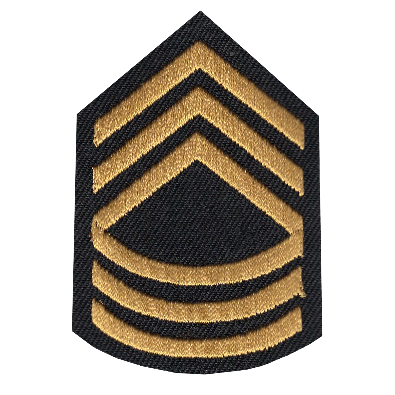 Master Sergeant Iron On Applique Patch
