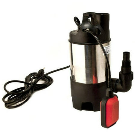 ALEKO AP202-2 Submersible Dirty/Clean Water Pump 1/2 HP 2100 Gallons Per Hour with Float Switch Drain Pump, Stainless Steel Housing