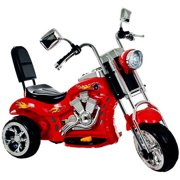 Ride on Toy, 3 Wheel Trike Chopper Motorcycle for Kids by Lil' Rider