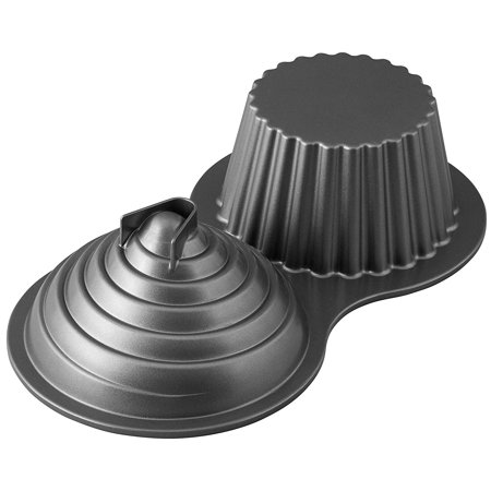 Giant Cupcake Mold (Dimensions Giant Cupcake Pan, Use this mold all year round to create people or monster shapes By)