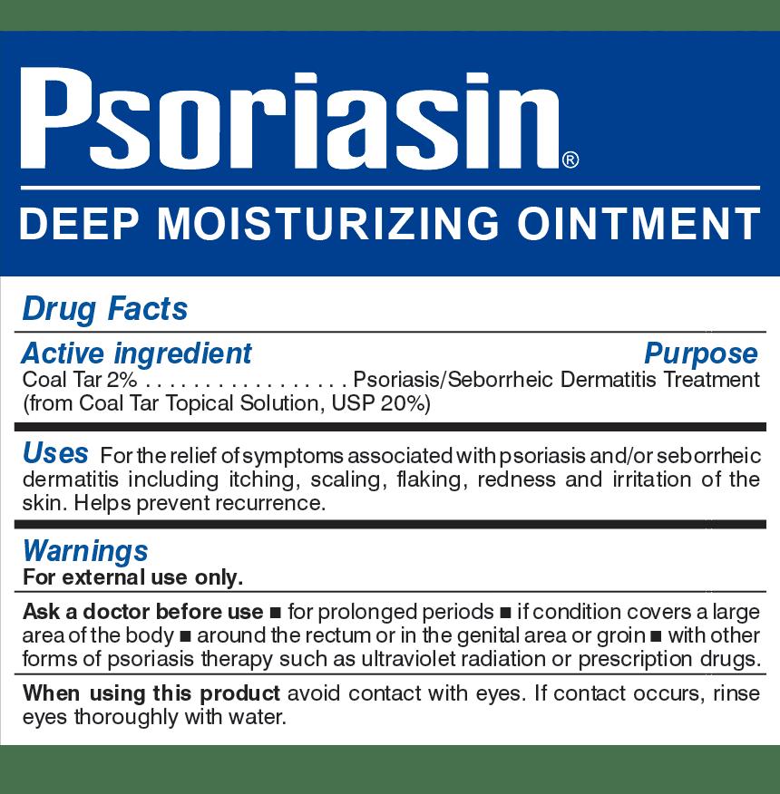 Krém psoriasis t, Psoriasin shampoo ingredients