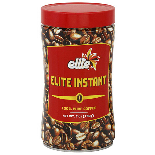 Elite Instant Coffee, 7 oz (Pack of 12)