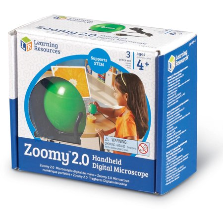 Learning Resources Zoomy 2.0 Digital Microscope, Green