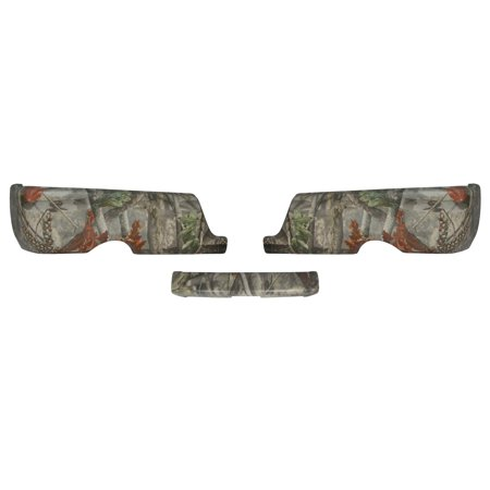 Rear BumperShellz – Camouflage (Branching Out), dual exhaust, w/o sensor holes (Bumper Cover) for 09-17 Ram 1500, 2500, 3500 Dual Exhaust