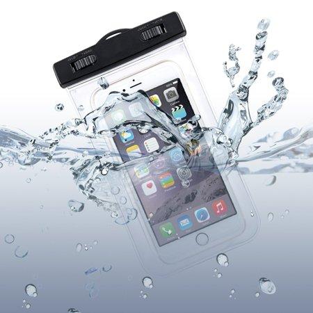 Waterproof Case Transparent Bag Cover Compatible With ZTE Grand X S Pro, Fanfare, Citrine, Blade Vantage Spark, Axon M 9 Pro 7, Avid Trio Plus 916 828 4,