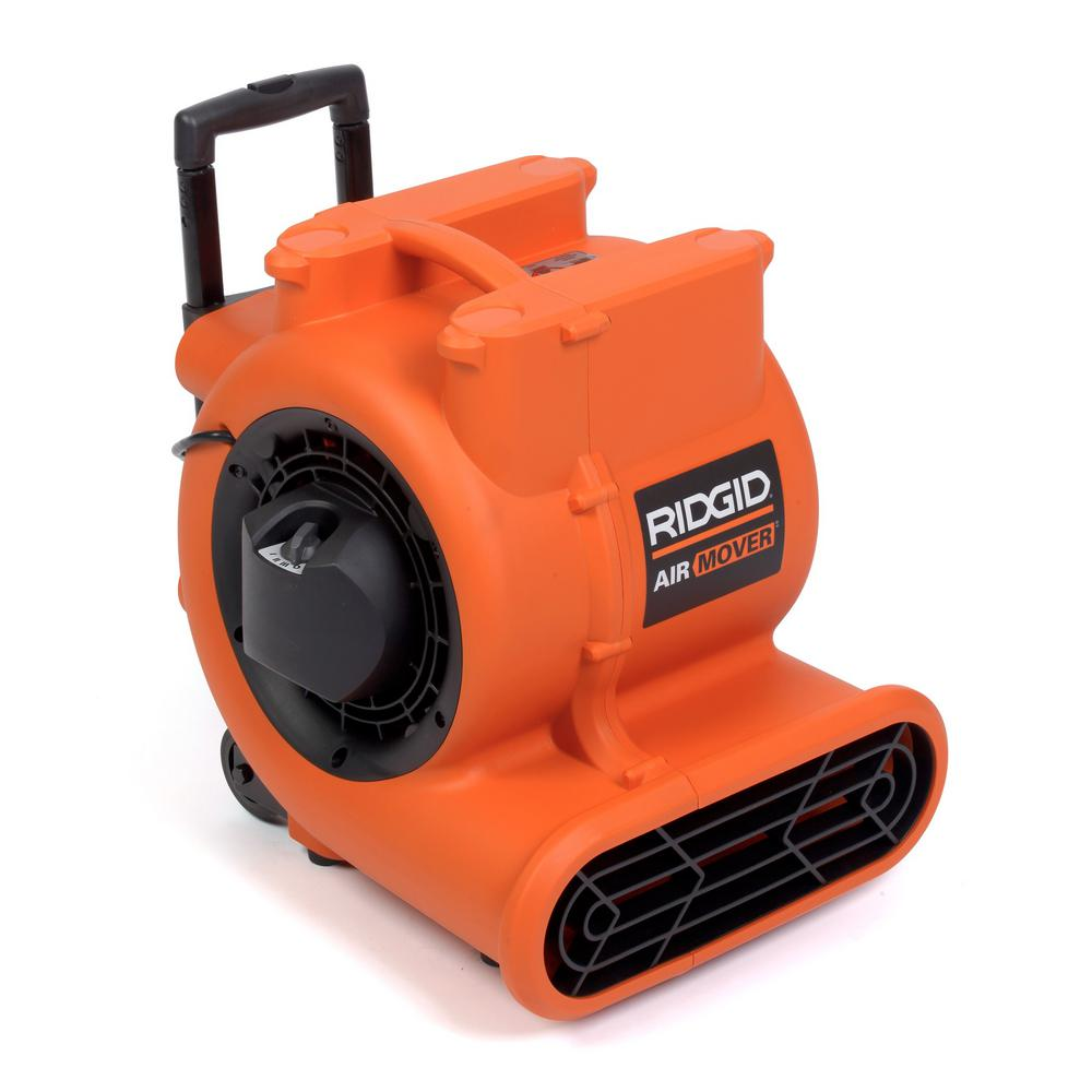 Superbe RIDGID Air Mover 1625 CFM Portable Blower Fans Heating Venting Cooling  AM2560   Walmart.com
