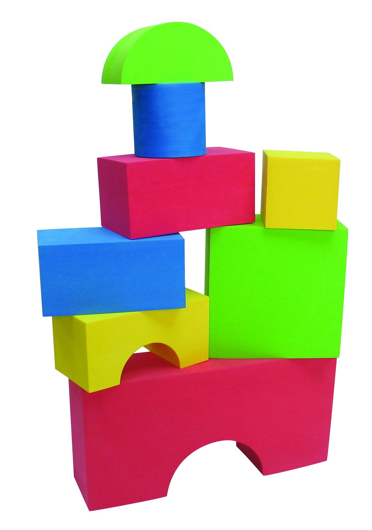 Edushape Giant Blocks, 16 Piece by Edushape