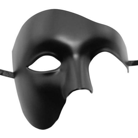 Coxeer Phantom of The Opera Mask Venetian Masquerade Mask Vintage Design for Men